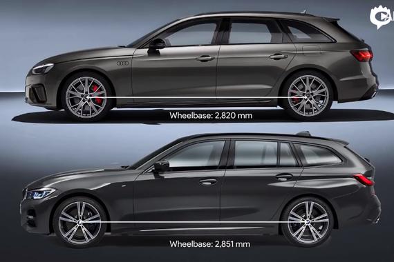 视频:德系旅行车对比 奥迪A4 Avant vs 宝马3系旅行版