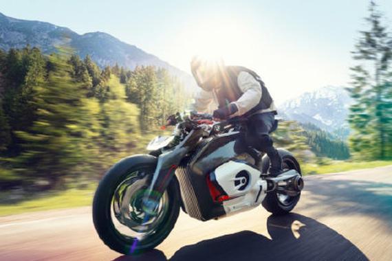 未来的电动摩托车 宝马Vision DC Roadster发布