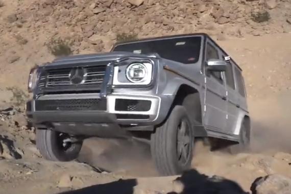 视频:有路的地方它都能去 Mercedes G-Class