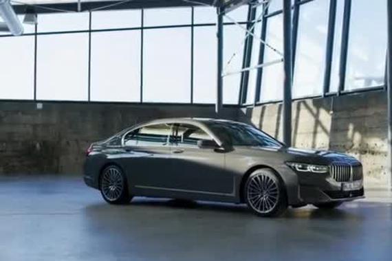 视频:宝马全新7系展示非凡的外观设计