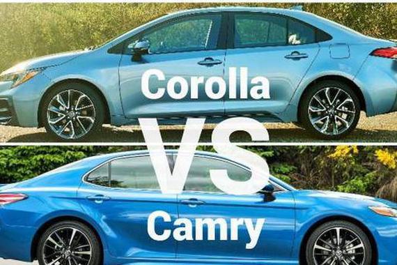 视频:哪个更值得买?2020丰田卡罗拉vs丰田凯美瑞