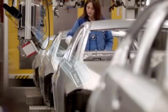 解密宝马工厂如何运用AI技术黑科技造车