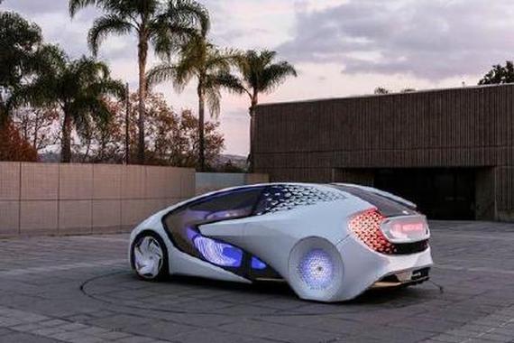 丰田Concept-i概念车 结合AI实现人车互动
