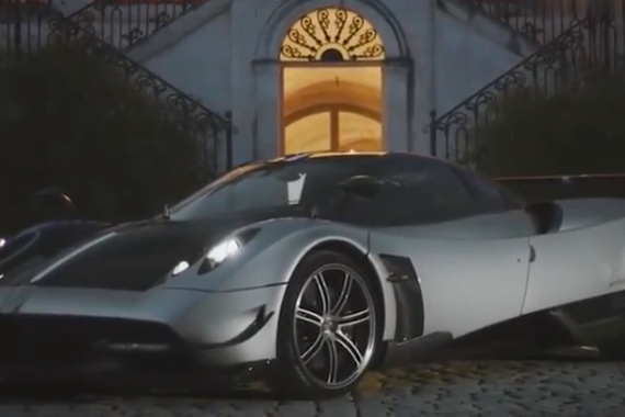 酷炫帕加尼Huayra BC豪华跑车宣传片