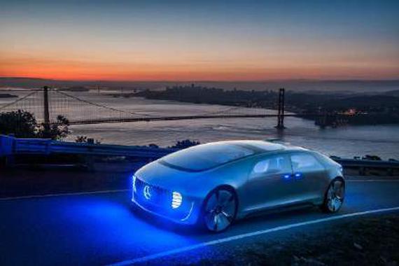 奔驰F015 豪华自动驾驶概念车