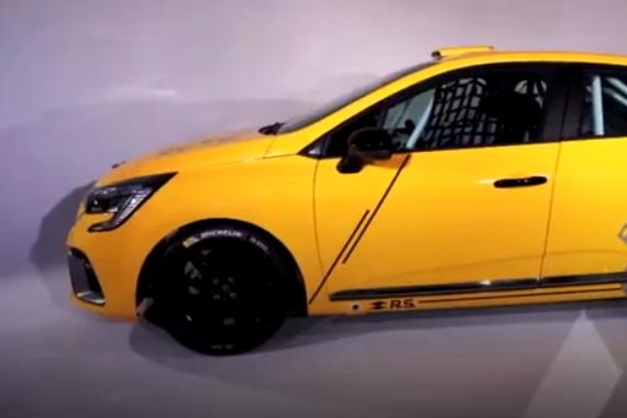 顶级钢炮 雷诺Clio高性能赛车版发布