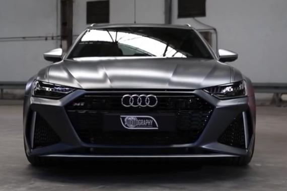 百公里加速仅需3.6秒 奥迪新款RS6 Avant