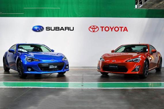 丰田与斯巴鲁将合作开发多款车型 制造主管变动