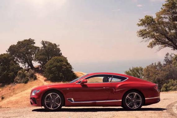 视频:宛如艺术品 全新2020款宾利欧陆GT V8