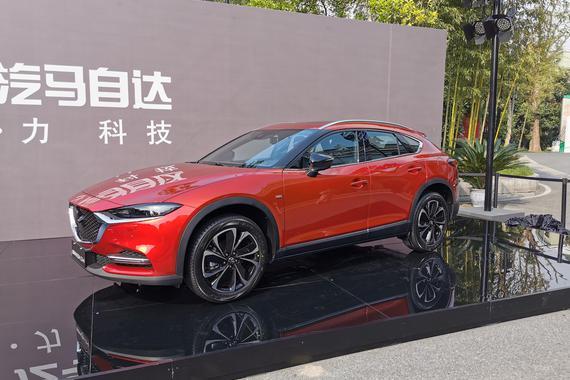 """马自达新款CX-4亮相 新阿特兹""""恒星蓝""""首秀"""