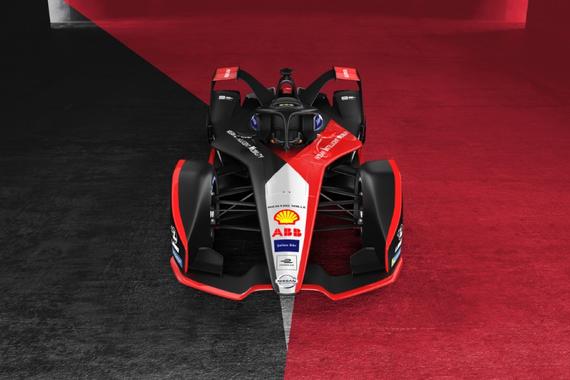 日产汽车Formula E新赛季赛车融入全新外形设计理念