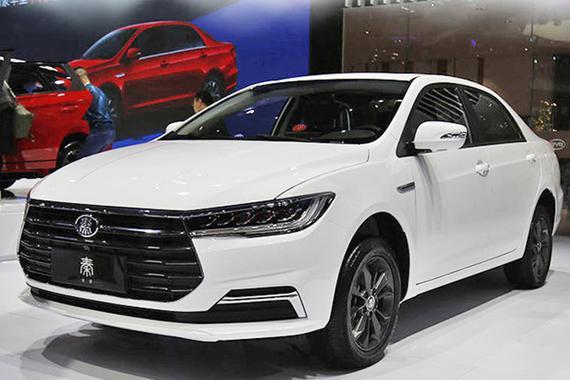 比亚迪全新秦EV/燃油版今日上市 预售6.68万元起