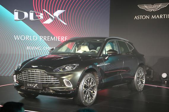 阿斯顿·马丁DBX 全球首发,品牌首款SUV