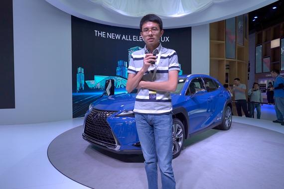 2019广州车展视频:60秒新车初印象 雷克萨斯UX300e
