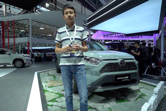2019广州车展视频:60秒新车初印象 全新一代荣放 威兰达