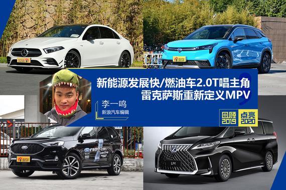 回顾2019点亮2020:新能源发展快,燃油车2.0T唱主角