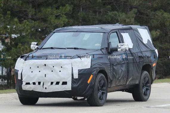 Jeep大瓦格尼谍照曝光 预计6月底特律车展上发布