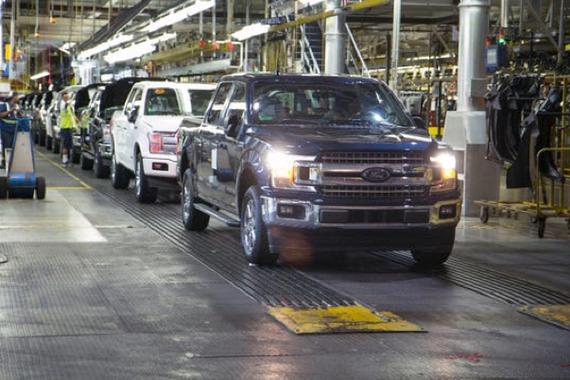 海外疫情 福特北美工厂可能要关闭到5月 或进行临时裁员