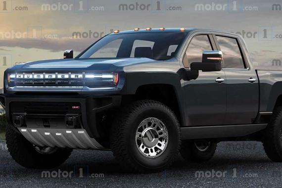 GMC悍马EV将使用通用新Logo