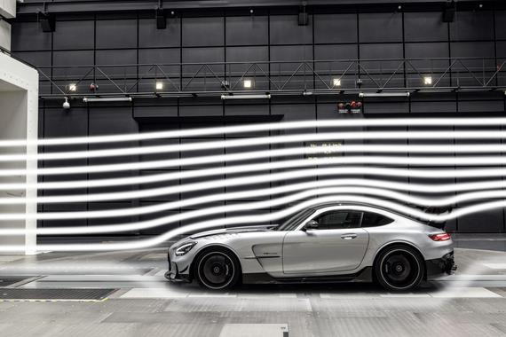 AMG GT Black Series风洞测试