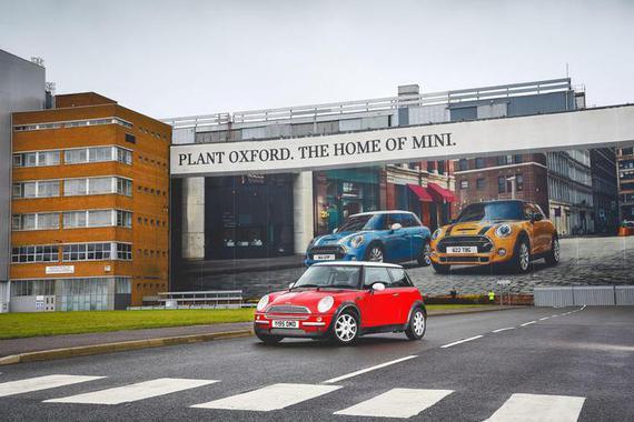 宝马将在MINI牛津工厂裁员400人 削减10%产能