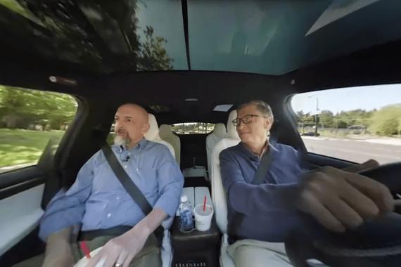 比尔盖茨点评电动车 称特斯拉Semi很可能永远不会成为现实