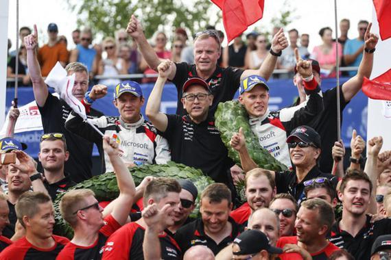 丰田任命赛车手汤米·马基宁担任赛车顾问,负责开发超跑