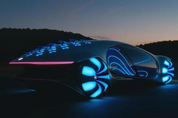 Vision AVTR概念车跑起来太炫酷