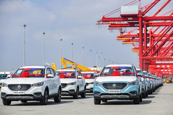 上汽集团欧洲自营航线启航 2025欧洲目标破十万