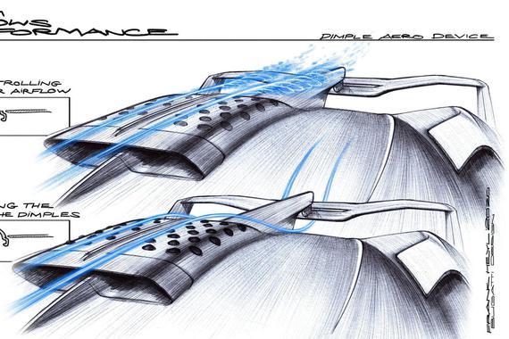 布加迪Bolide超跑首创可变形蒙皮 大幅降低风阻