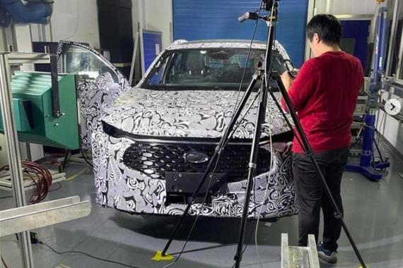 第5代福特蒙迪欧预生产版谍照曝光 采用跨界风格变身SUV