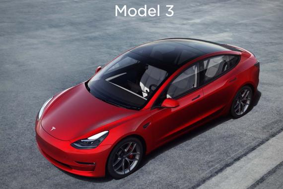 12月特斯拉国产Model 3销量23804辆 2020年全年销137459辆