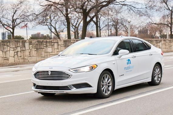 CES2021:英特尔旗下Mobileye计划2025年推出自动驾驶汽车