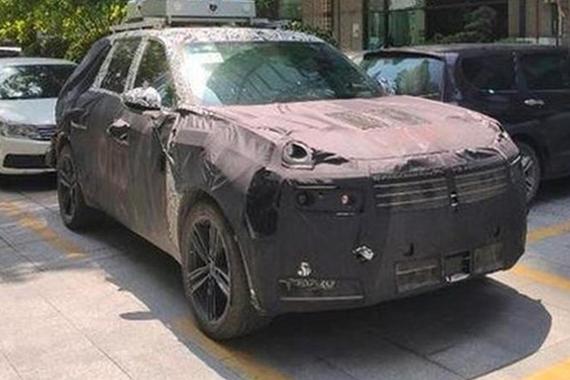 领克EX11或定名领克07 定位中大型SUV