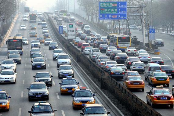 机动车等移动源已经成为我国大中城市PM2.5污染主要来源