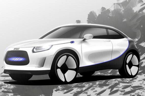 吉利与奔驰拟在9月举行的慕尼黑车展上展示Smart电动SUV概念车