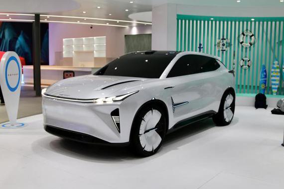 2021上海车展探馆:风光S-007概念车