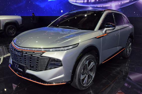 内部代号B02 哈弗XY概念车有望年内量产上市