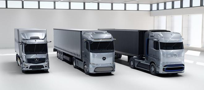 戴姆勒发布卡车电动化战略 续航将超1000公里