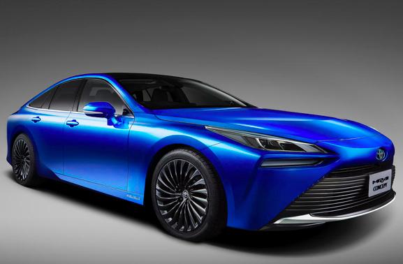 东京车展:丰田第二代全新Mirai燃料电池汽车将于明年开售