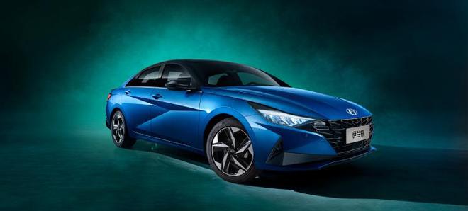 北京车展开启预售 北京现代第七代伊兰特官图发布