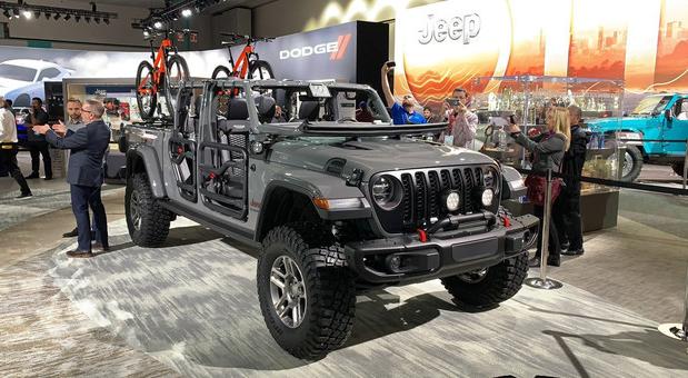 爷们的车 Jeep Gladiator将亮相上海车展