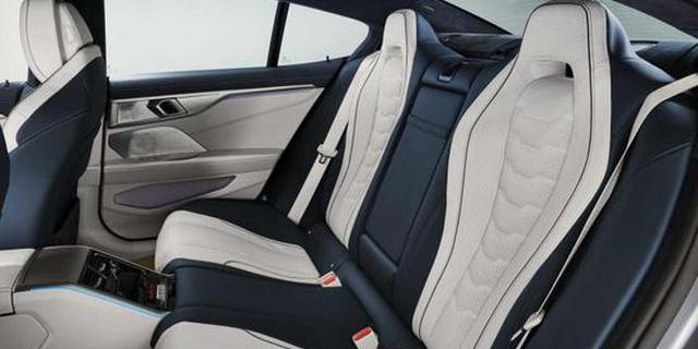 不买7系的理由 8系Gran Coupe官图发布