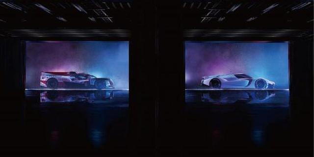 未来将进军勒芒的GR Super Sport原型车(右)