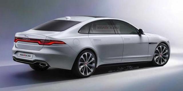 将于2020年初发布 全新捷豹XJ假想图