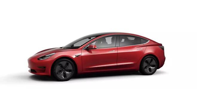 Model 3 标准续航升级版在中国开放选配 起售价37.7万元