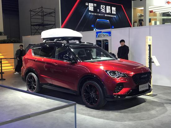 2019上海车展探馆:捷途X70 Coupe