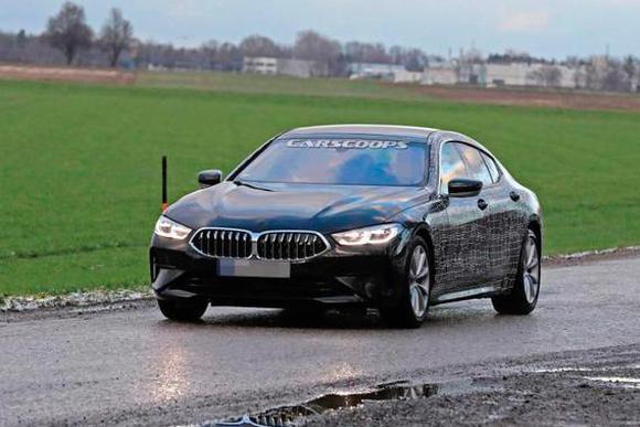宝马8系Gran Coupe谍照更新 预计明年亮相