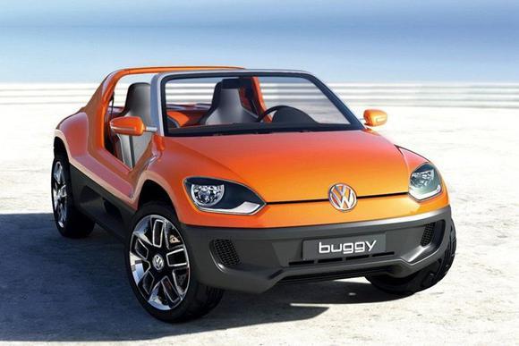 大众全新电动沙滩车预告图 日内瓦车展发布