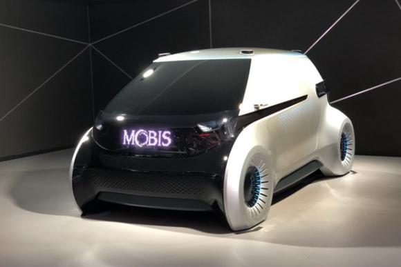 2019 CES:现代摩比斯未来内饰概念座舱